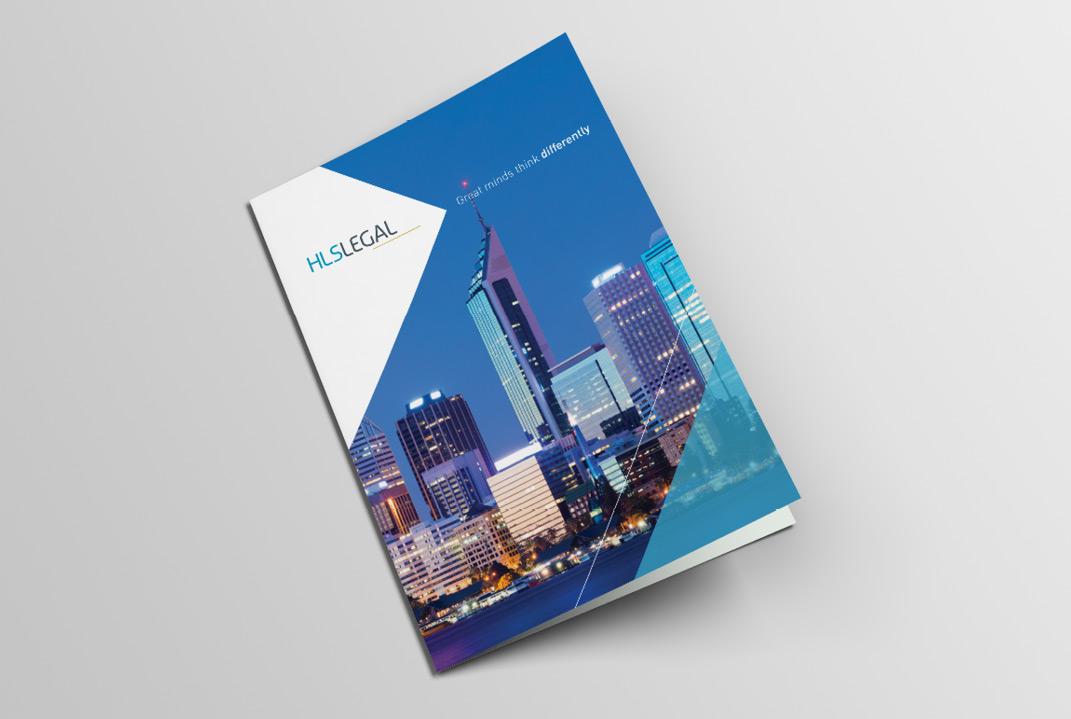 Booklet brochure by Slick Design