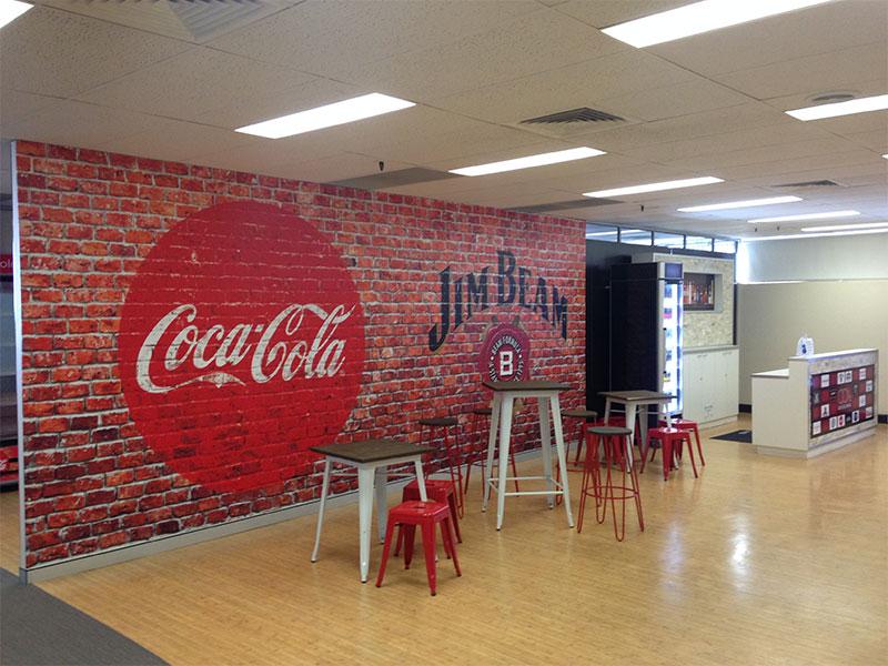 Wall design by Slick Design