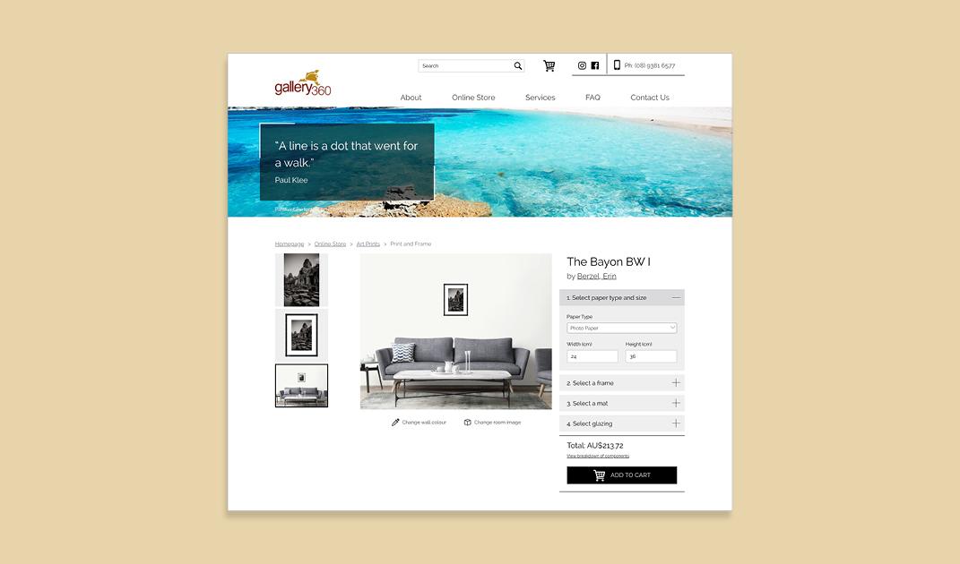 Gallery 360 by Slick Design
