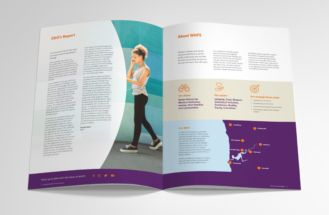Womens Health and Family Services by Slick Design