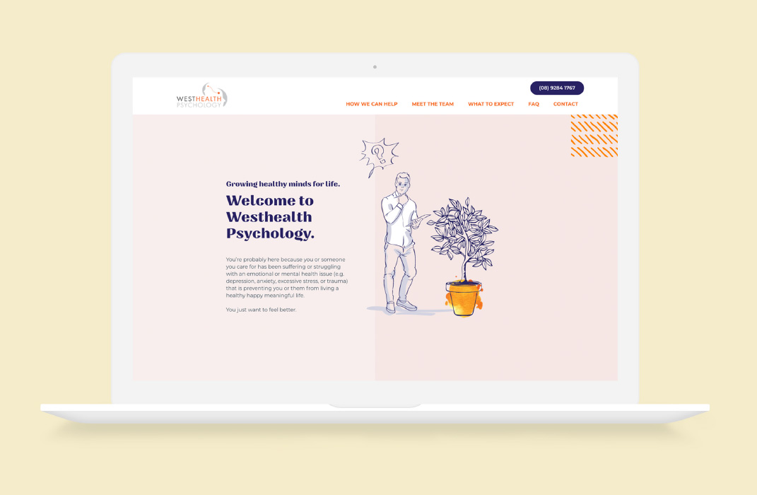 Westhealth Psychology by Slick Design
